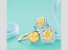Cushion cut Yellow Diamond Engagement Rings   Tiffany & Co.