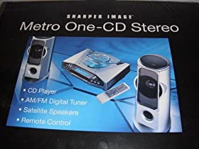 Reviews Sharper Image Metro One Cd Stereo Micro System Radio