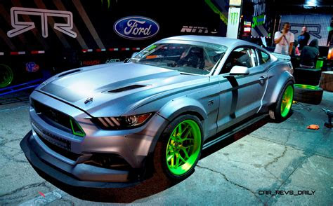 ford mustang rtr spec  widebody joins ready  rock