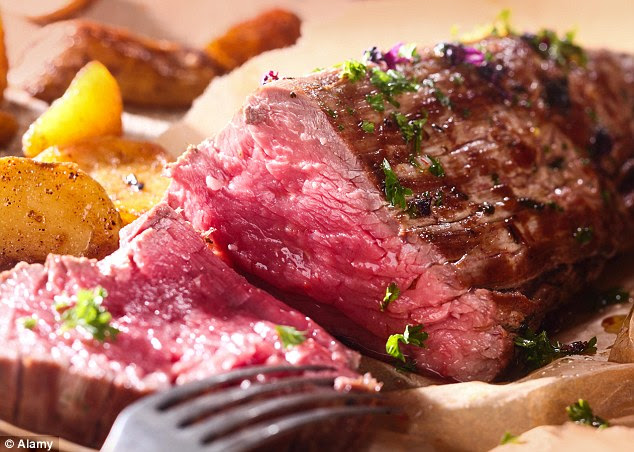 When choosing read meat, opt for grass-fed steak instead of corn-fed