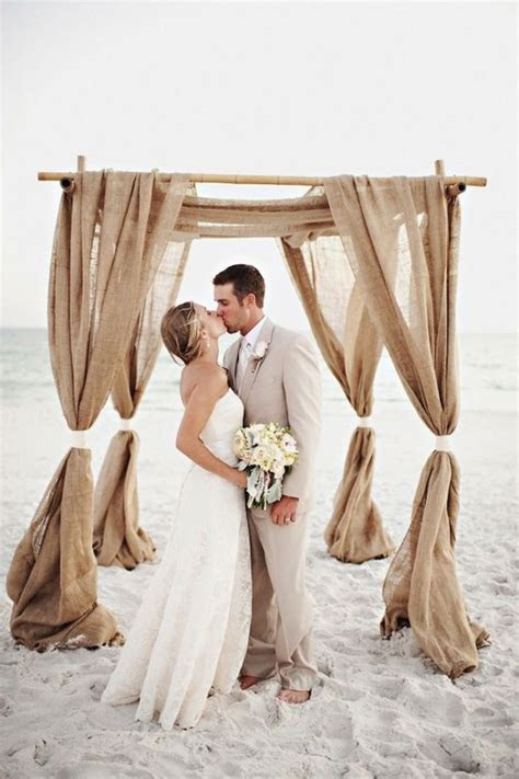 Burlap Beach Wedding Ideas ? Beach Wedding Tips