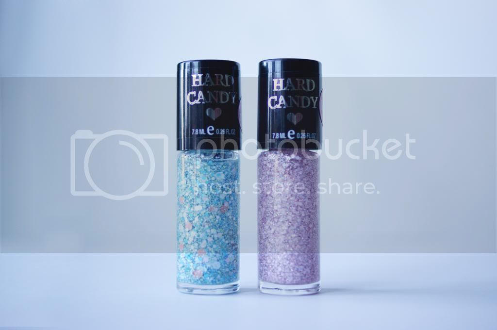 Collective Nail Polish Haul Hard Candy Pop Art King of Pop Crystal Confetti Fairy Ball