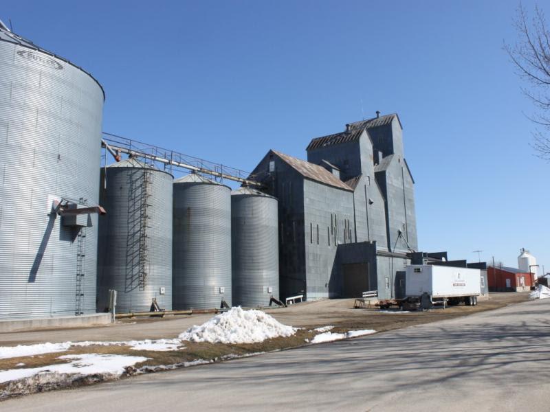 Emerado grain elevator