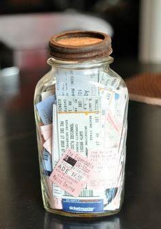 40 DIY Valentine Gift Ideas for Boyfriend & Husbands - Ticket Memory ...