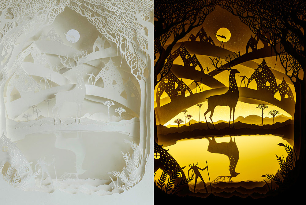 Wonderful Paper Sculptures by Hari & Deepti