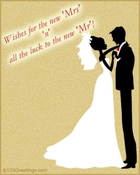 Wishes Card On Wedding. Free Wishes eCards, Greeting Cards