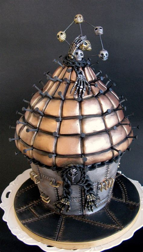 Giant Pinhead Muffin Cake   CakeCentral.com