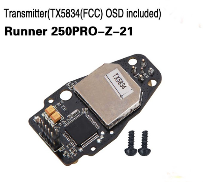 Transmitter TX5834 FCC OSD Included Walkera Runner 250PRO-Z-21 for Walkera Runner 250 PRO GPS Racer Drone RC Quadcopter