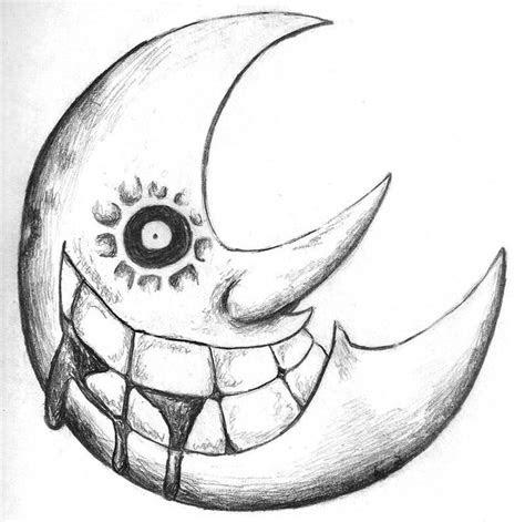 soul eater moon  draw soul eater moon soul eater