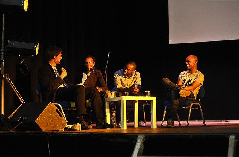 Evry Daily Photo - Ask Em x Harold x Malone - Concert Litteraire aux Arenes de l'Agora Evry 11