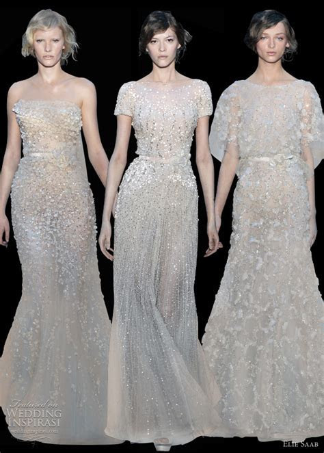 Elie Saab Fall 2011 2012 Couture   Wedding Inspirasi