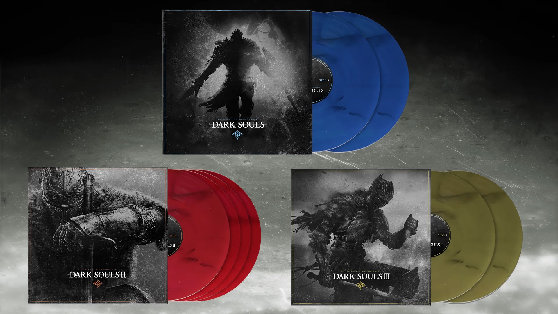 Europe is getting a real nice Dark Souls vinyl trilogy set screenshot