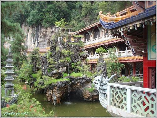 Landscaped rock garden @ Sam Poh Tong