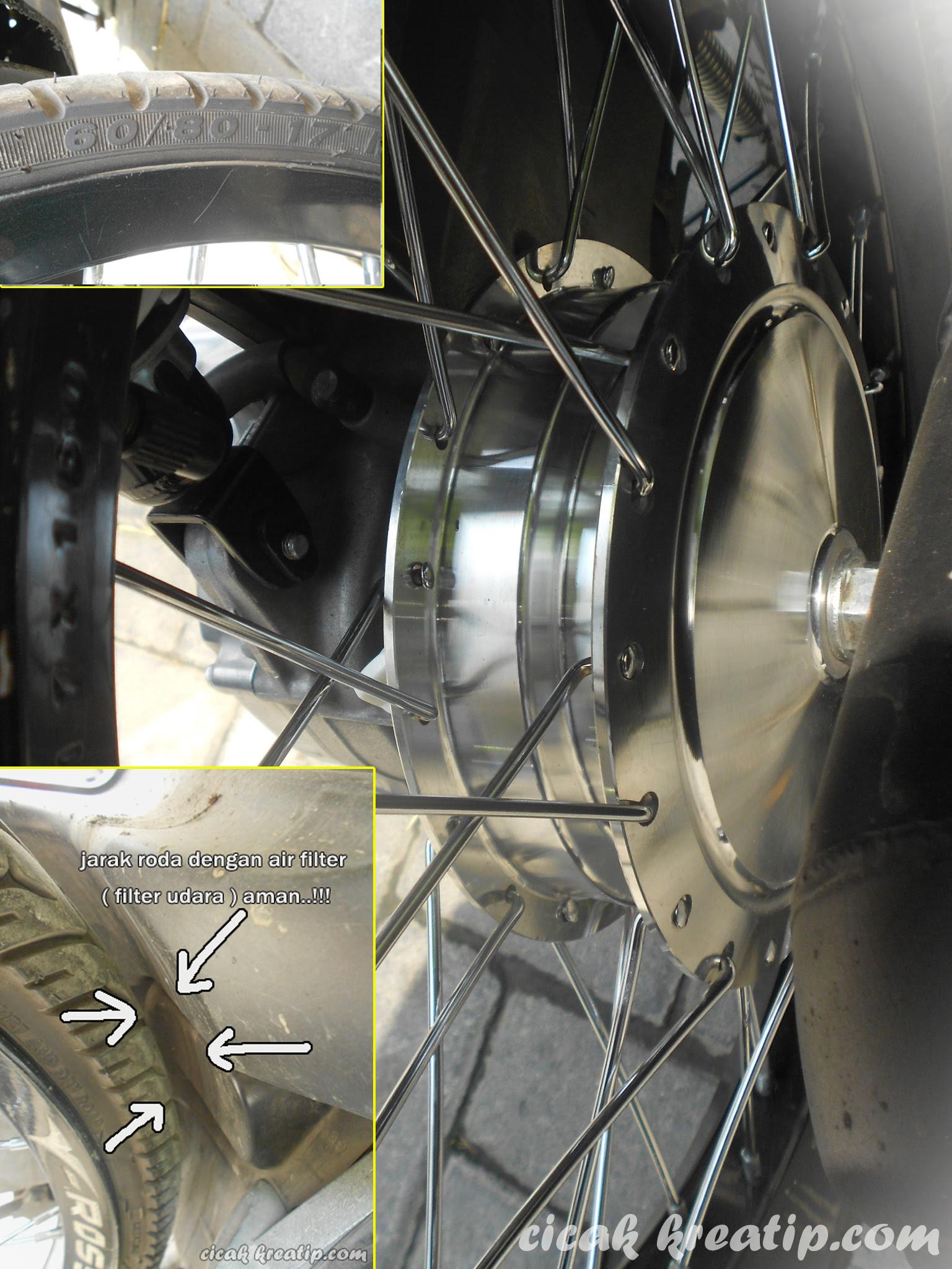 Modifikasi Motor Mio Cakram Belakang Pecinta Shock Breaker Sporty Soul M3 Gt Bluecore Z Fino Xeon Series Motogp Yamaha Pakai Velg 17 Dan X Ride