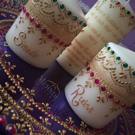 Personalise your candles with messages names dates and