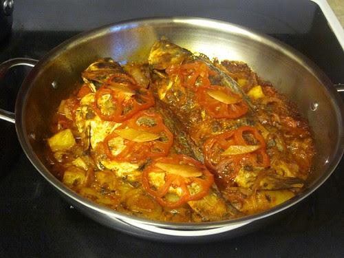 Baked Algerian Fish