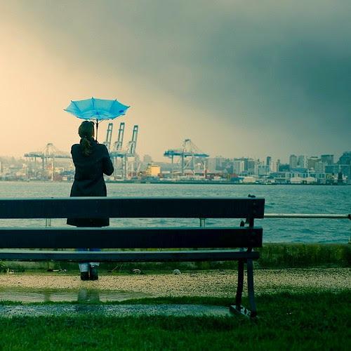 Rain / Umbrella / Girl