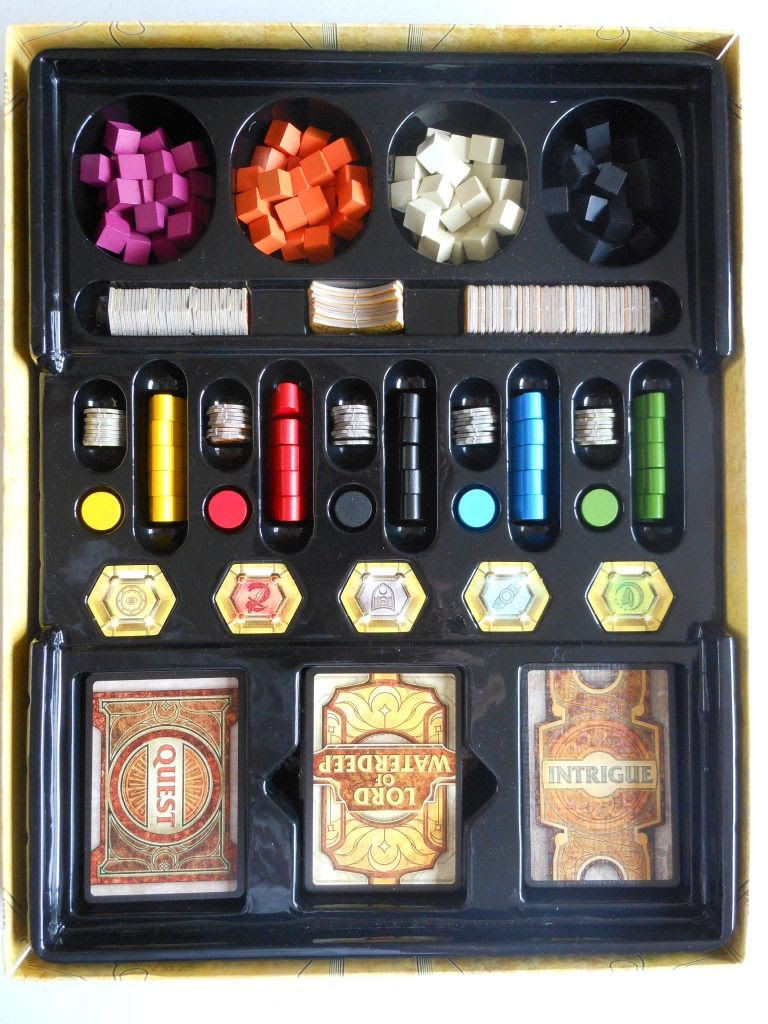 Dungeons and Dragons: Lords of Waterdeep - box insert