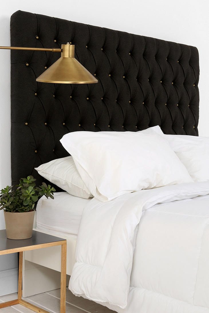 Elliot Brass Button Headboard   I want my small space to be AWESOME. I entered the #UrbanOutfitters Pin A Room, Win A Room Sweepstakes! #smallspace
