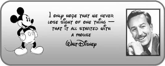 Tmsm Mythbusters Walter Elias Disney Quote Myths