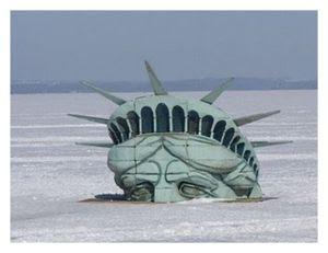 Liberty In Ice