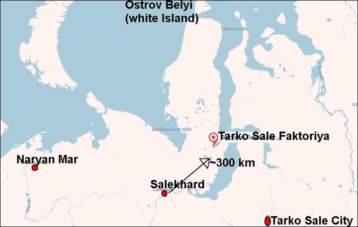 correct map anthrax Yamal peninsula