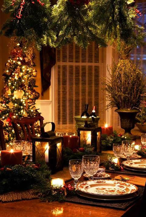 Top Indoor Christmas Decorations on Pinterest  Christmas Celebration  All about Christmas