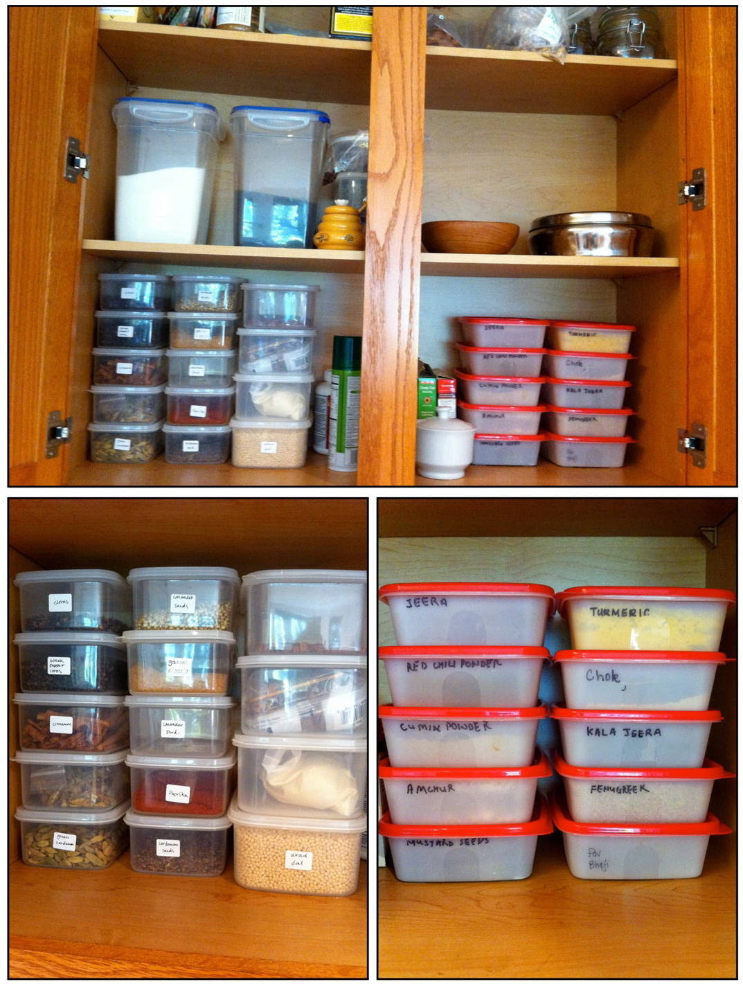 Indian Kitchen Pantry