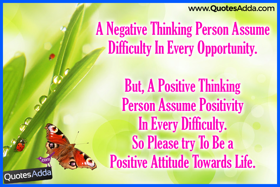 Quotes About Thinking Negative 70 Quotes