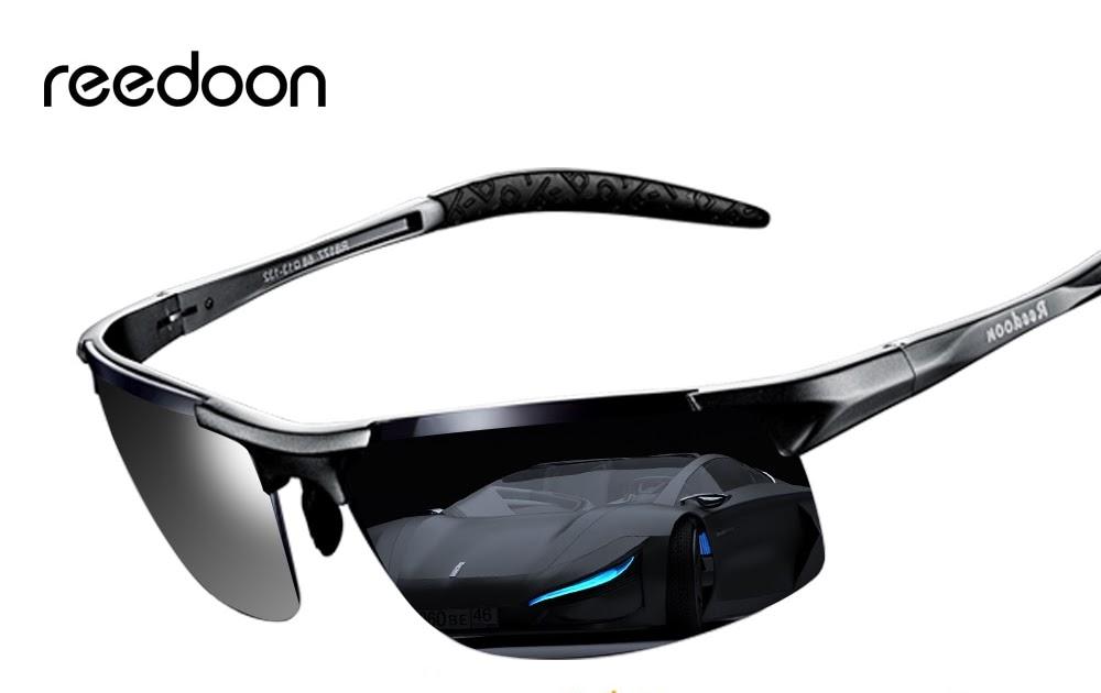 Comprar Reedoon óculos De Sol Fotocromáticas Lente Polarizada UV400 Moldura  Alumínio E Magnésio Óculos Condução Para Os Homens Alta Qualidade Baratas  Online ... 1e3426dbae