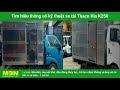 Báo giá xe tải Kia K250 lăn bánh