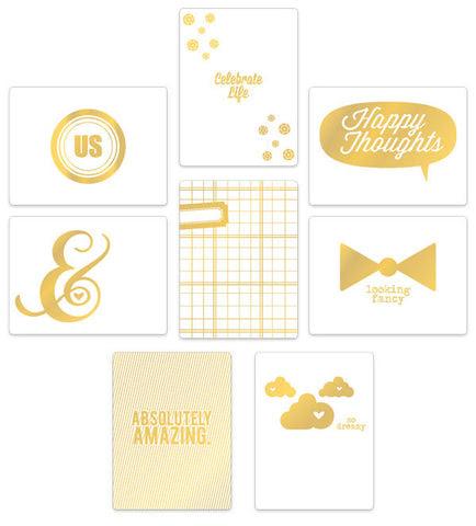 Cloud 9 Gold Cards – 8 pcs