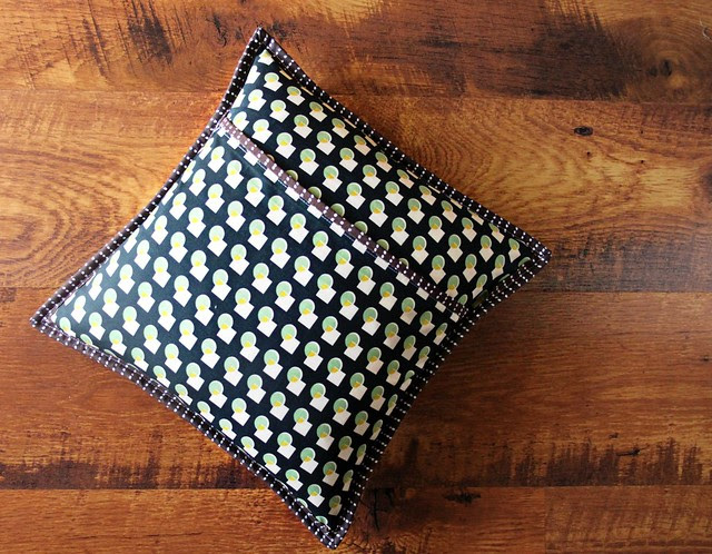 Pillow Backing + Binding