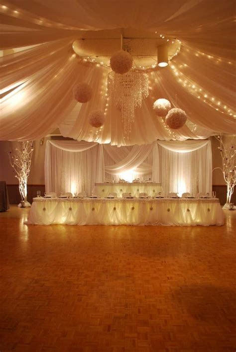 694 best Receptions   Draping images on Pinterest