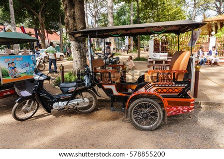 Motor Tricycle Stock Images Royalty Free Images Vectors