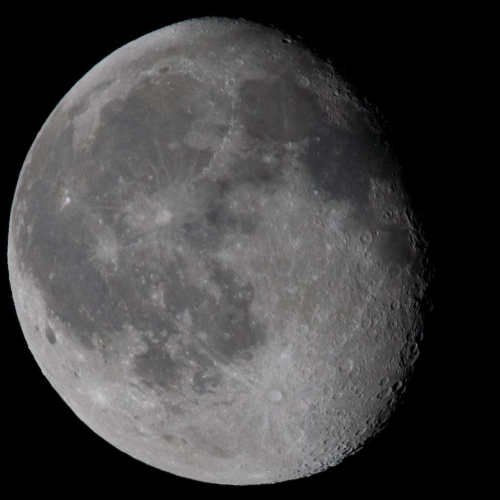 Moon at 840mm