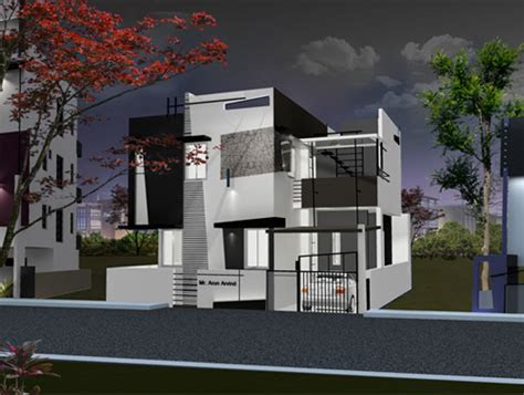 luxury house plans villas  bangalore  ashwin