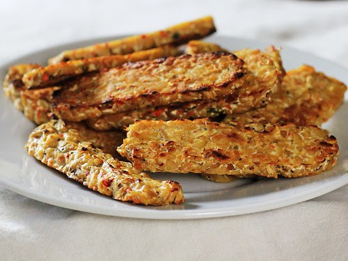"Pan ""Fried"" Tempeh"