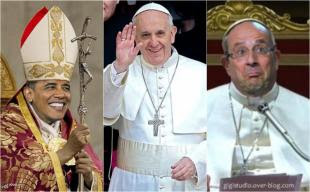 HOLLANDE OBAMA BERGOGLIO