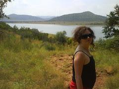 The Dr surveys the vastness of Africa