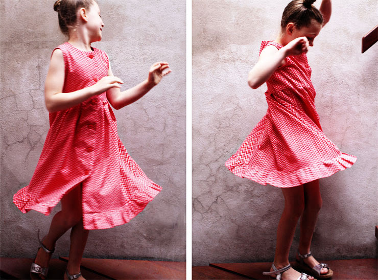 Ruffle Dress #2