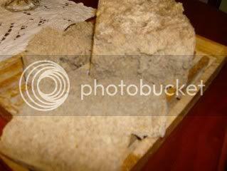 pão de centeio e sementes de girassol e linhaça