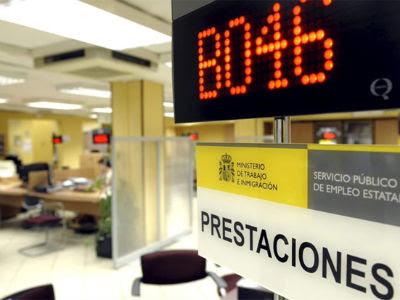 Una oficina de los Servicios de Empleo en Valladolid.