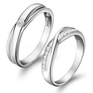 Love Infinity Promise Engagement Wedding Ring Mens Womens