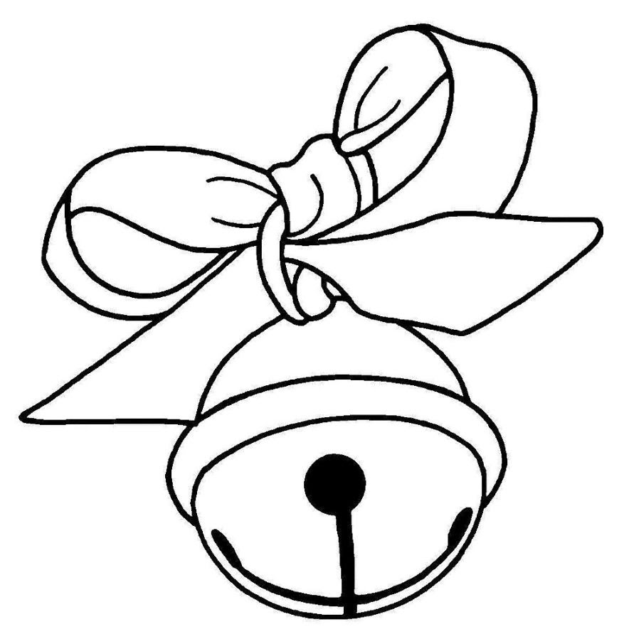 Printable Christmas Bells Coloring Page for Kids | Free christmas ... | 899x884