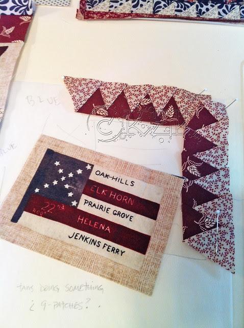 IMG_2812 Gettysburg Battle Flag quilt block