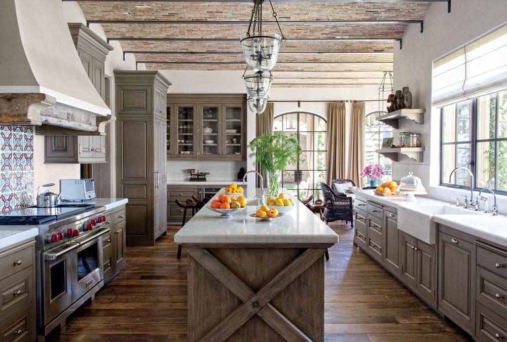 Warm Cozy And Inviting Rustic Kitchen Interiors Interior Design