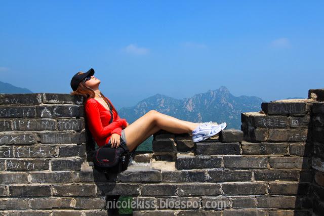 Great wall of china Beijing Nicolekiss