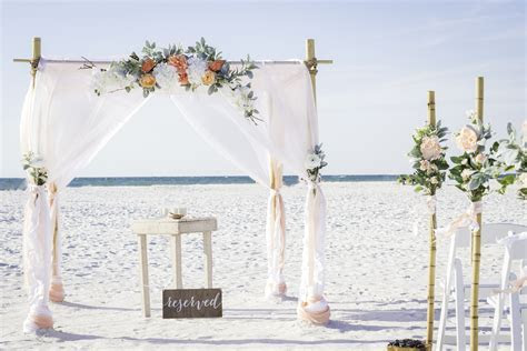Clearwater Beach Wedding   Tide The Knot Beach Weddings