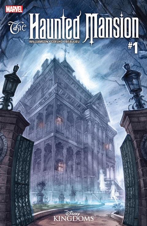 Marvel Haunted Mansion Comic Book